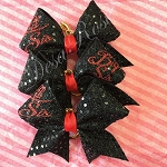 Big Sis~ Lil Sis Keychains or Mini Hair Bows