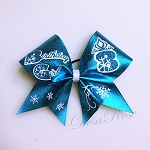 Frozen Birthday Girl Bow