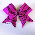Hot Pink Swirl Bow