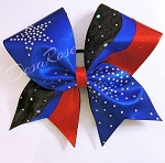 Star Burst Rhinestone Bow
