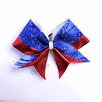 Blue Burst Cheerbow