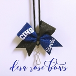 Personalized Bow Lanyard