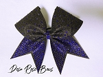 Black & Blue Sizzler Bow