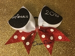 Nationals Mickey Themed Cheer Bow