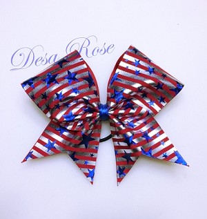 American Pride Cheer Bow