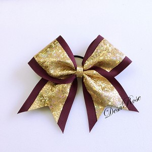 Shattered Glass Bow - Available in multiple colors
