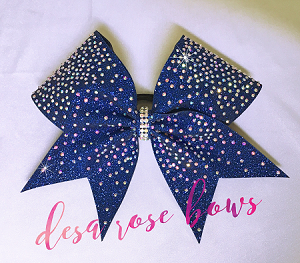 Bling Fling Rhinestone Bow~ Available in multiple colors