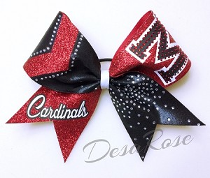 Bring it On Cheer Bow  with Customized Letter