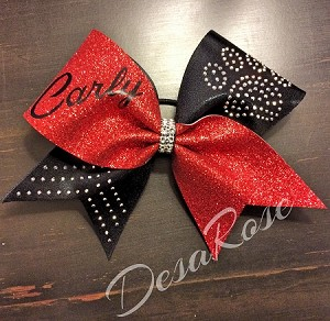 Pawprint Pride Bow with Name Customization