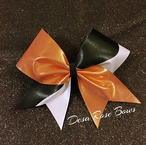Double Infusion Bow in Orange