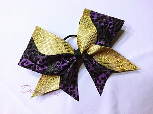 Gold and Purple Cheetah