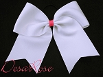 Basic Ribbon Bow with Long Tails (you pick colors)